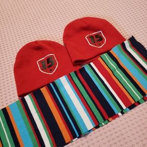 kids scarf and hats